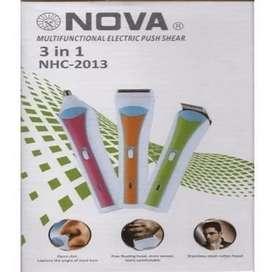 Maquina Patillera Afeitadora Nova 3 En 1 Recargable