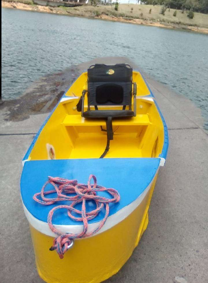 Lancha Bote Portátil nuevo. Desarmable 2 módulos. Para Pesca o Remar. 0