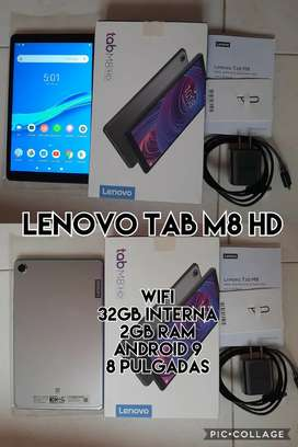 Tablet lenovo 2gb ram y 32gb internas wifi.