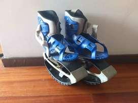 Air kicks (anti-gravity running boots)