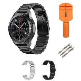 Pulso Acero Compatible Samsung Gear S3 , Galaxy Watch 46mm