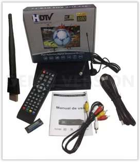 Decodificador Tdt Receptor Tv Digital Antena Youtube Wifi