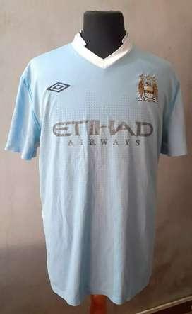 Camiseta Umbro del Manchester City talle XL original