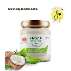 crema dental natural sin fluor