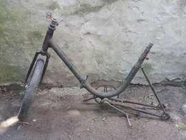 Cuadro de Bicicleta Plegable Rodado 16