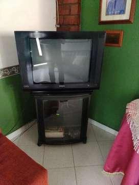 Televisor convencional Philips slim de 29 pulgadas