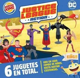 Justice League Toys Burger King