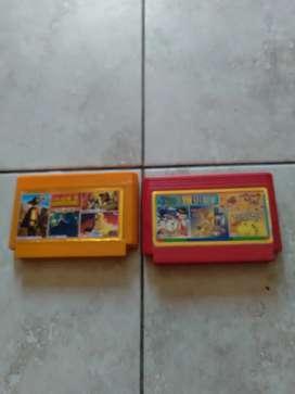 Vendo cada uno de estos casetes para Family Computer en diez dólares