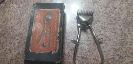 Cortadora de pelo antigua