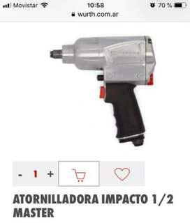 Pistola atornilladora de impacto