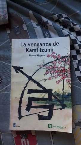"""""""La venganza de Kami Izumi"""" libro de Blanca Álvarez"""
