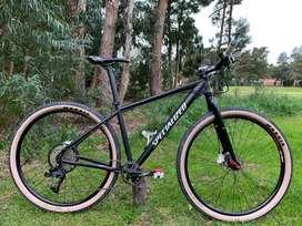 Bicicleta NO specialized 29 talle M (monoplato ovalado) 10v + zapatos nuevos.
