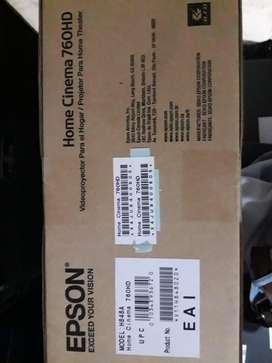 Proyector Epson Home Cinema 760HD