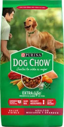 DOG CHOW 8KGS ADULTOS MEDIANOS Y GRANDES