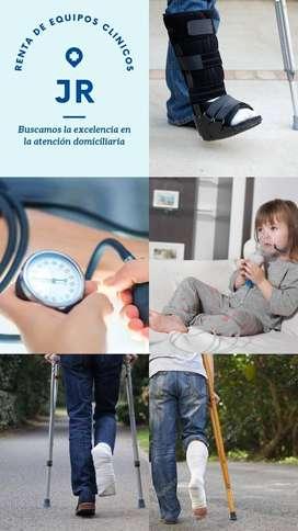 Alquiler de equipos médicos