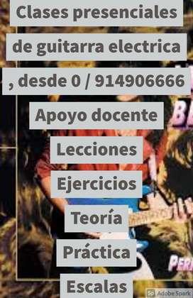 Clases de Guitarra Eléctrica desde 0