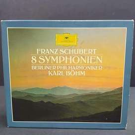 FRANZ SHUBERT 8 SYMPHONIEN - 4 CD's