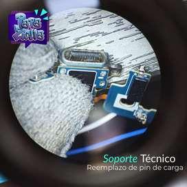 SOPORTE TECNICO /PIN DE CARGA PARA TODAS LAS MARCAS