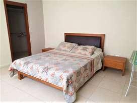 rento suite amoblada riverfront 2 puerto santa ana, guayaquil