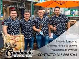Show de Tamboras - Cumbandé