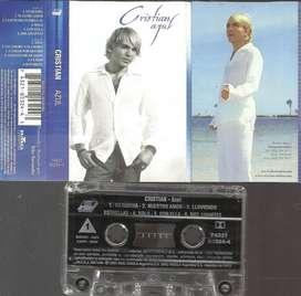 Cassette Cristian Castro Azul 2001