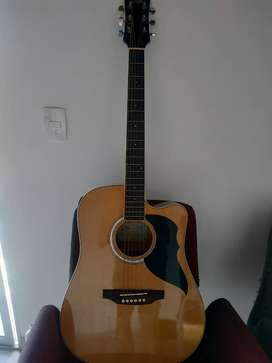 Guitarra electroacústica Eko italiana tipo Folk