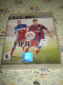 Juego Ps3 Fifa 2015 Original En Caja C/manual Impecable