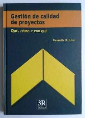 Libro Gestión De Calidad De Proyectos. Qué, Cómo Y Por Qué.
