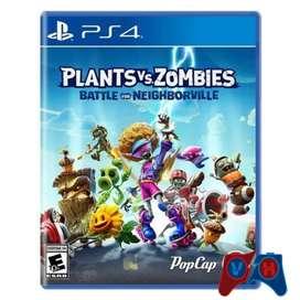Plants Vs Zombies Batlle For Neighborville Ps4 Físico