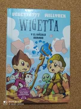 Libro Wigetta y el báculo dorado