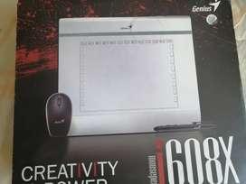 Pen tablet Genius i608x sin usar