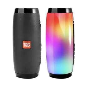 •Radio parlante USB marca TYG•Conexión USB-SD•Radio FM•Bluetooth Luces LED