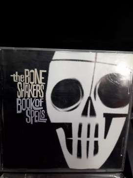 The bone shakers book of spells cd original oferta 10