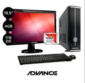 "PC Advance VO10C1 AMD A-10 19.5"" 1TB 4GB"