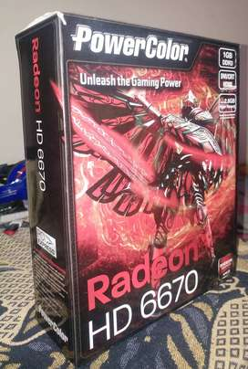 Tarjeta de Video Radeon HD 6670 1GB DDR3