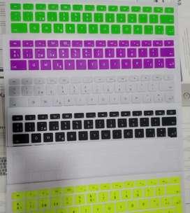 Protector teclado macbook en silicóna