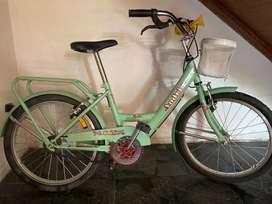 Bicicleta Aita Andria Rodado 20 Color Verde Agua