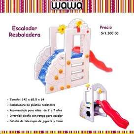 Vendo Juego Resbaladera - Escalador para niñoss.