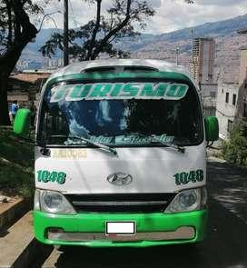 VENDO O CAMBIO Hyundai County Buseta Especial Modelo 2012