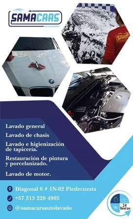 Se requiere lavador de autos con experiencia certificada