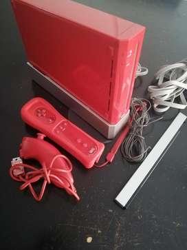 Se Vende Nintendo Wii Roja Toda Original