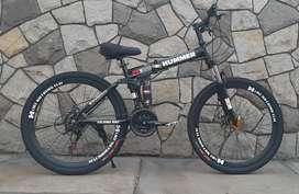 Bicicleta MTb  plegable aro 26