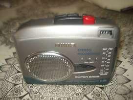 Walkman Aiwa Js175 Pasa Casett Radio Parlante Exc No Envio