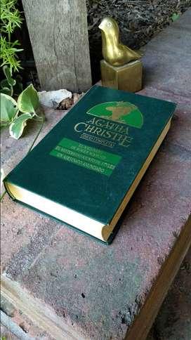 Libro tapa dura Agatha Christie