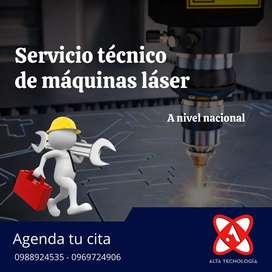 Servicio técnico de máquinas CNC láser y router.