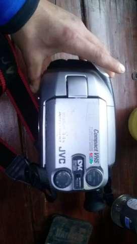 Cámara JVC filmadora + control