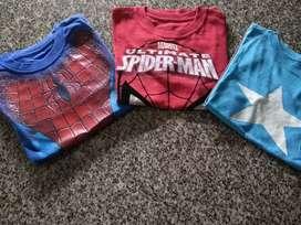 Remeras Superheroes para Niños