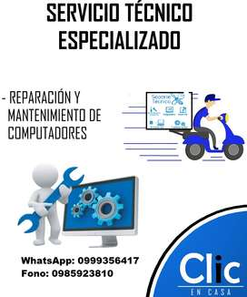 Servicio Técnico en Computación a Domicilio