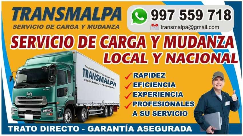 Transporte de carga y mudanza local y nacional 0