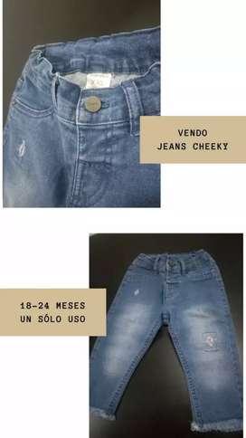 Jeans cheeky UN SOLO USO